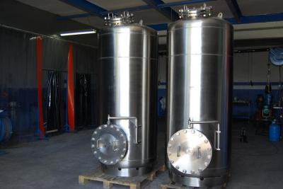 Aktif Karbon Tankı (Su Sistemi)