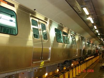 Metro Trenleri Kaynak Çalışmaları