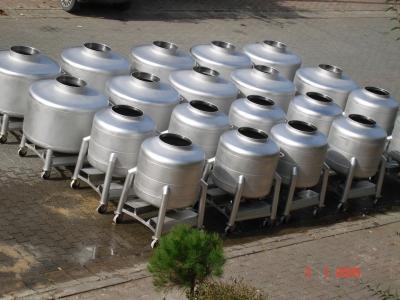 350-600 Litre Kapasiteli Mobil Pot Tankları