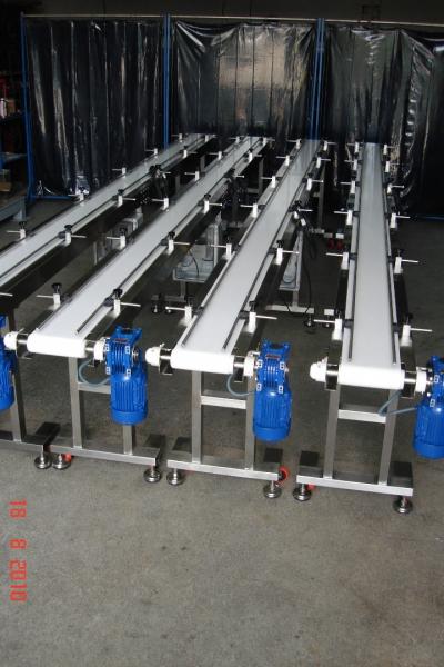Paslanmaz Çelik Bantlı Konveyörler