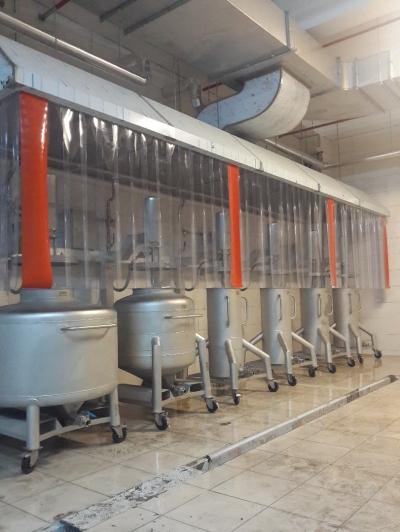 Paslanmaz Çelik IBC Pot Yıkama Sistemi
