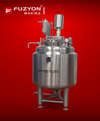 Paslanmaz Çelik 500 Litre Kapasiteli Solüsyon Üretim Tankı