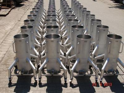 115 litre Kapasiteli Mobil Pot Tankları