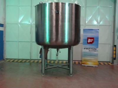 Paslanmaz Tank ( gıda prosesi sıvı-baz hazırlama)