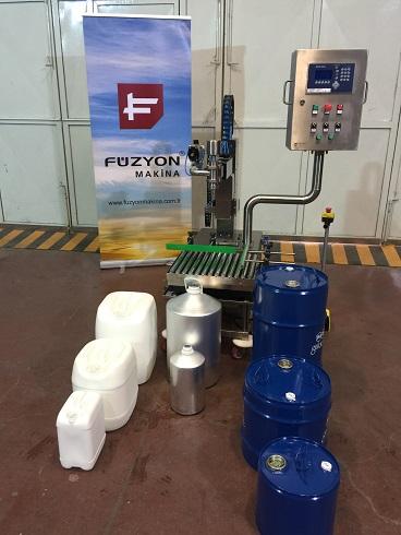 Yarı Otomatik Sıvı Dolum Makinası (TERAZİLİ)