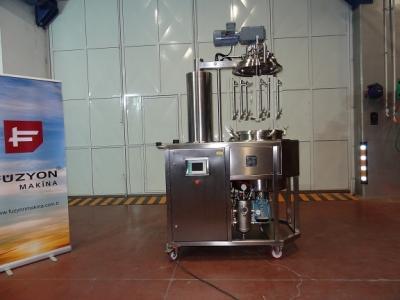 Homojenizatörlü ve Karıştırıcılı Basınçlı Reaktör (Paslanmaz Tank)