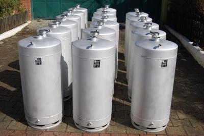 Paslanmaz Çelik Hammadde Akümülatör Tankı